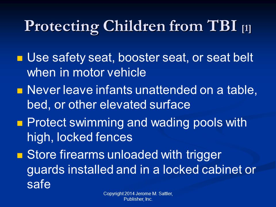 Protecting Children from TBI [1]